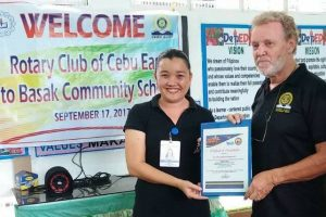 Cebu East Delivers Books to Underprivileged Schools