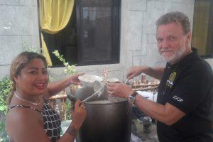 Alumnos Welcomes Cebu East back for Feeding Mission!