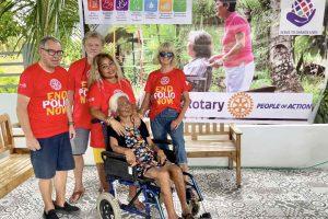 RC Cebu East donates wheelchairs